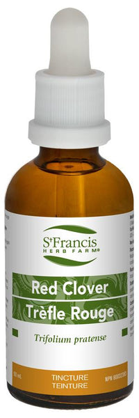 St. Francis Red Clover 50ml tincture