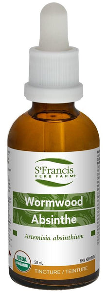 St. Francis Wormwood 50ml tincture