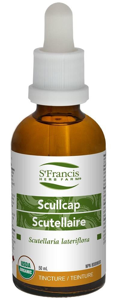 St. Francis Scullcap 50ml tincture