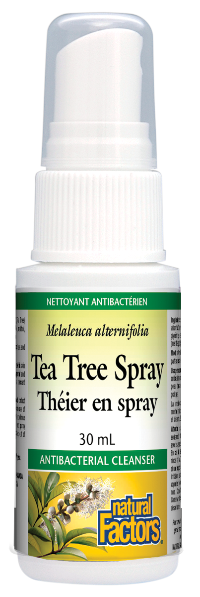 NATURAL FACTORS TEA TREE SPRAY 30ML