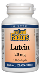 Natural Factors Lutein 20MG 120SG