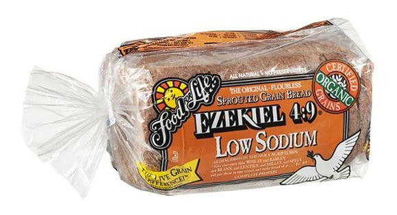 Food For Life Ezekiel 4:9 Low Sodium Sprouted Whole Grain Bread