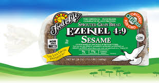 Food For Life Ezekiel 4:9 Sesame Sprouted Whole Grain Bread