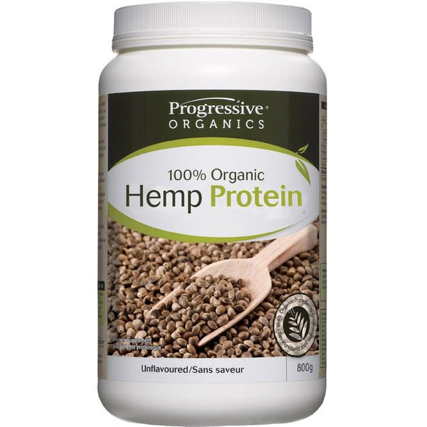 Progressive Hemp Protein Unflavoured 800g