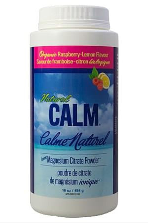Natural Calm Magnesium Powder Raspberry Lemonade 454g
