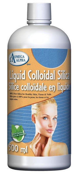 Omega Alpha Liquid Colloidal Silica 500ML
