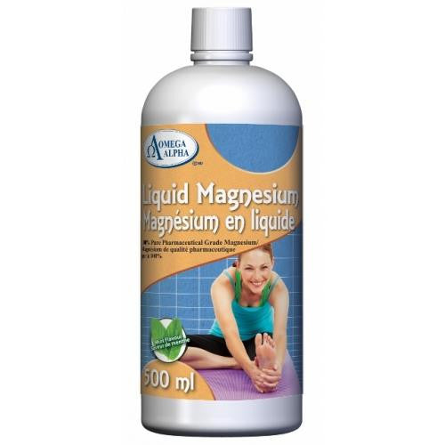 Omega Alpha Liquid Magnesium 500ML