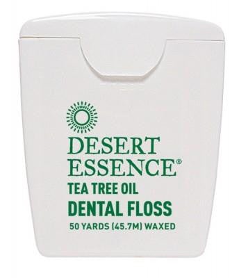 Desert Essence Dental Floss with Tea Tree Oil 50yards