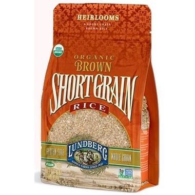 Lundberg Organic Brown Short Grain Rice 907G