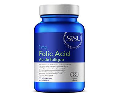 SISU Folic Acid 90caps