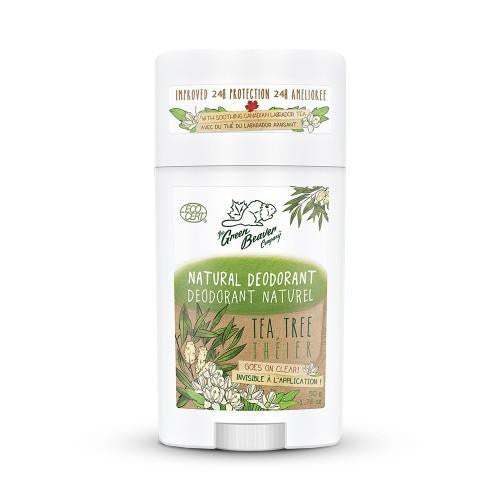 Green Beaver Tea Tree Natural Deodorant Stick 50g