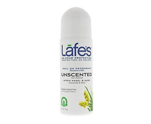 Lafe's Natural Deodorant Roll-On Unscented 71g