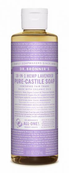 Dr. Bronner Pure-Castile Liquid Soap 237ml