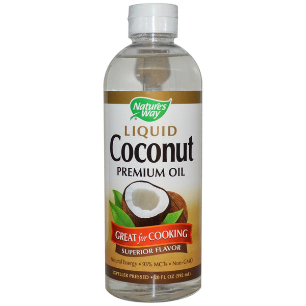 Nature's Way Liquid Coconut Oil 300ml