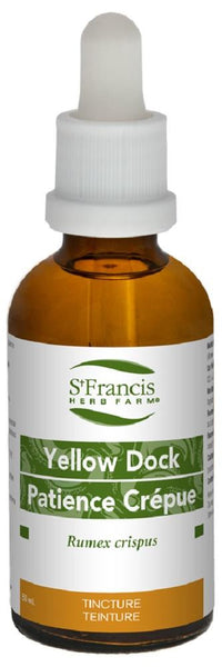 St. Francis Yellow Dock 50ml tincture