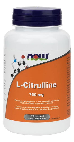 NOW L-Citruline 750mg 90Vcaps