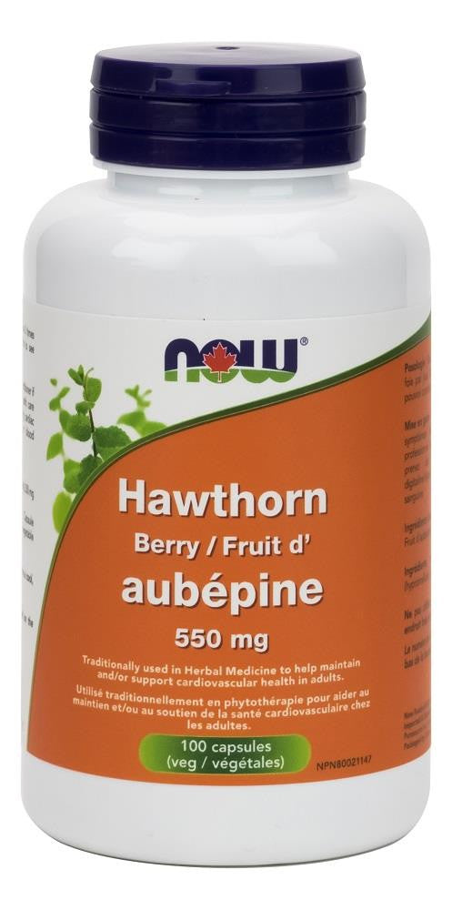 NOW Hawthorn Berry 550mg 100