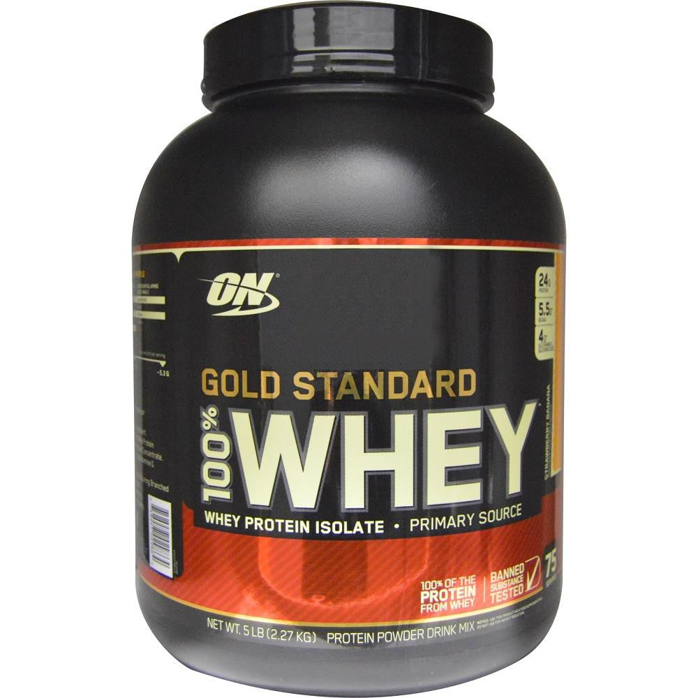 ON Gold Standard 100% Whey Strawberry 5lbs