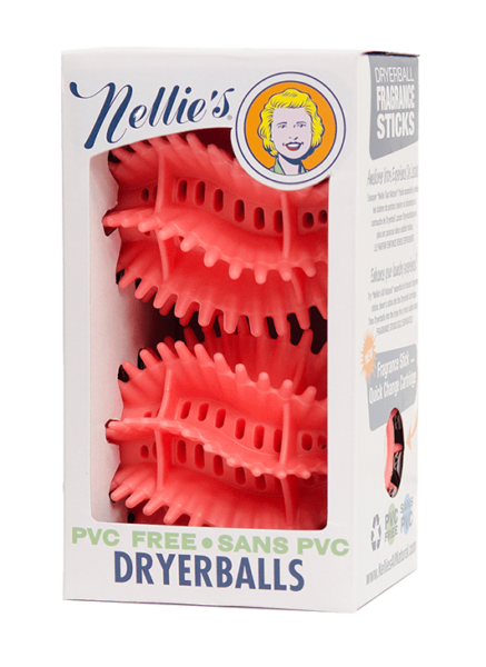 Nellie's Quick-Change Dryerballs (Scent stick compatible)