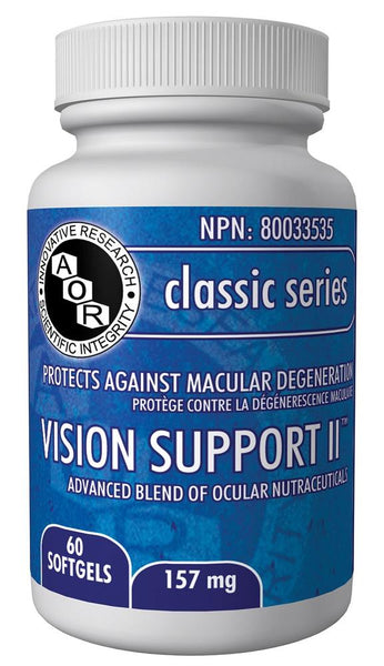 A.O.R Vision Support 11 157mg 60softgels