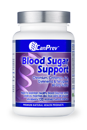 CanPrev Blood Sugar Support 120Vcaps