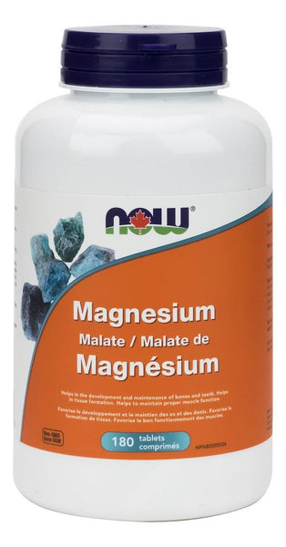 NOW Magnesium Malate 150mg 180tabs