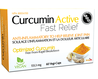 A.O.R. Curcumin Active Fast Relief 60Vcaps