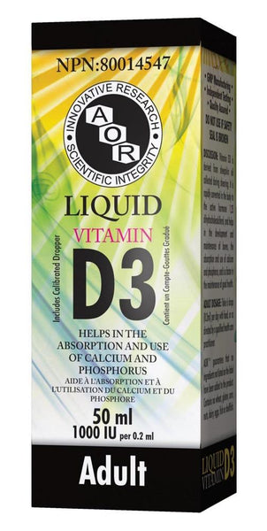 AOR Liquid Vitamin D 50ml*