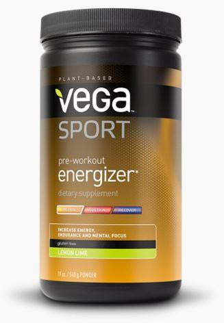 VEGA Pre-Workout Energizer Lemon Lime 540g