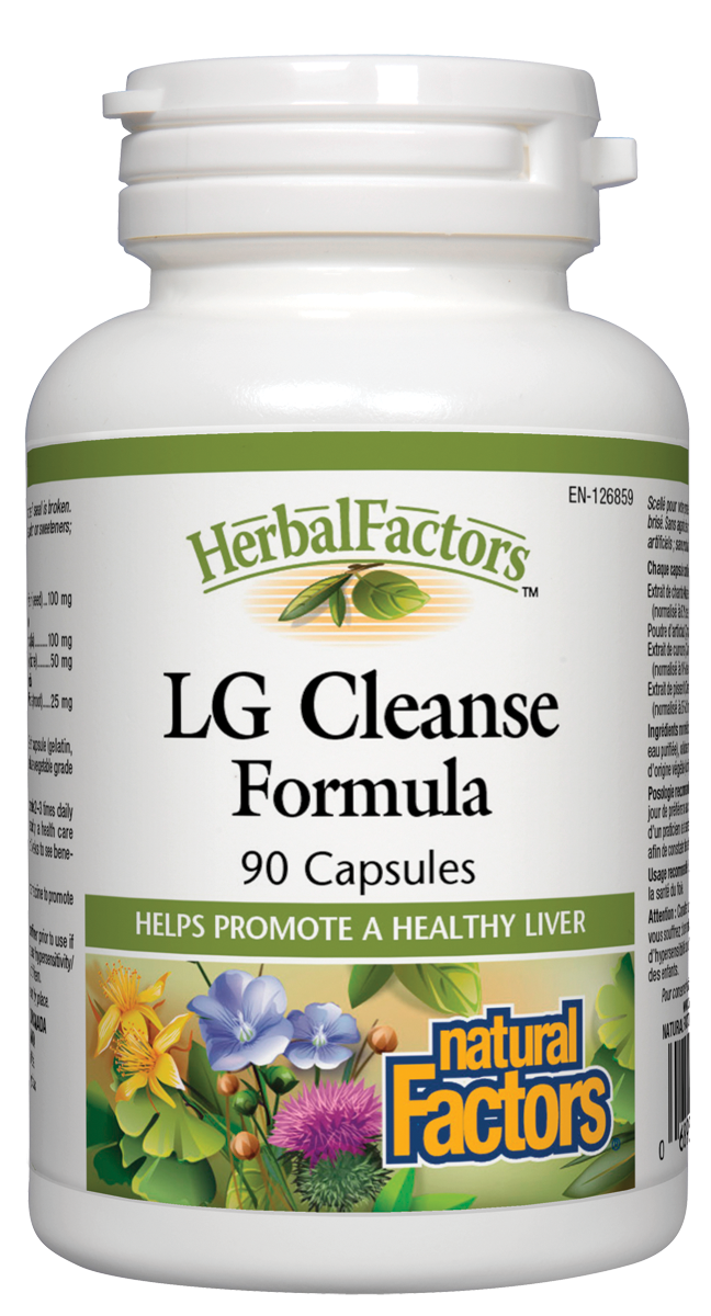 Natural Factors LG Cleanse 90Cap