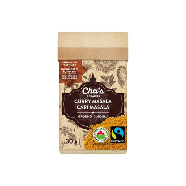 Cha's Organics Curry Masala (Curry Powder) 30G