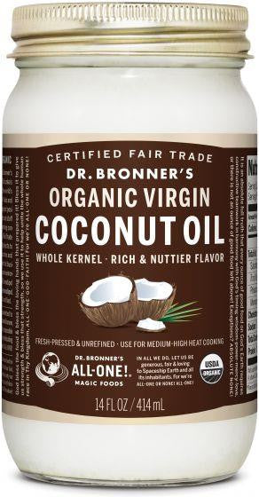 Dr. Bronner Organic Coconut Oil Whole Kernel 414ml