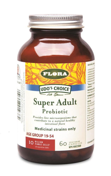 Flora Super Adult Probiotic 60Vcaps