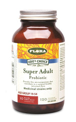 Flora Super Adult Probiotic 120Vcaps