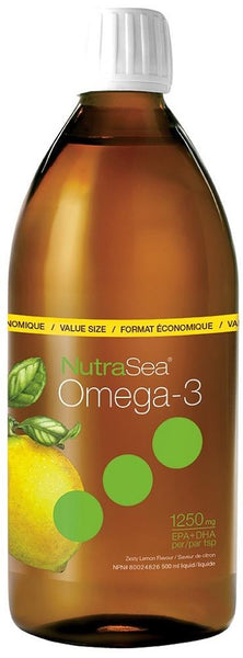 Ascenta NutraSea Lemon Liquid Omega-3 500ml
