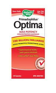 Nature's Way Optima 100 Billion 30caps