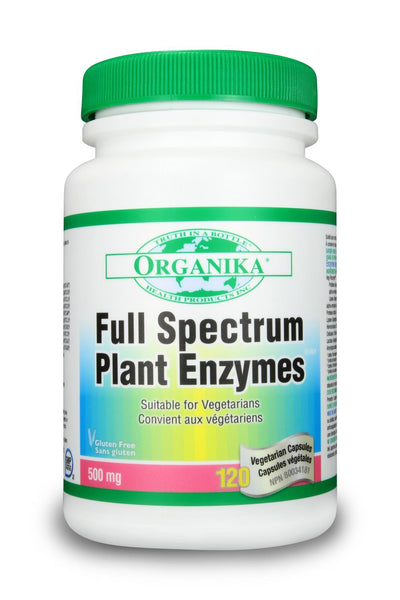 Organika Full Spectrum Plant Enzymes 120Caps