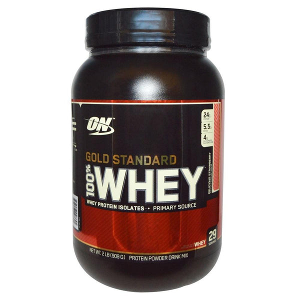 ON Gold Standard 100% Whey Strawberry 2lbs