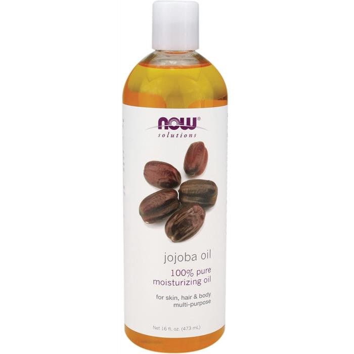 NOW JOJOBA OIL 100% PURE 473ML