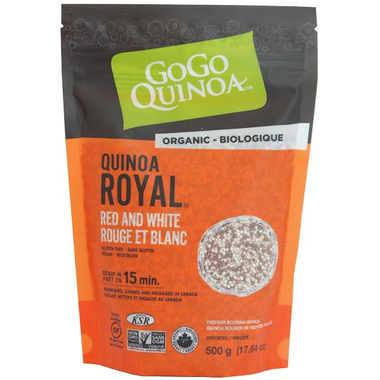 GoGo Quinoa Red and White Quinoa 500G