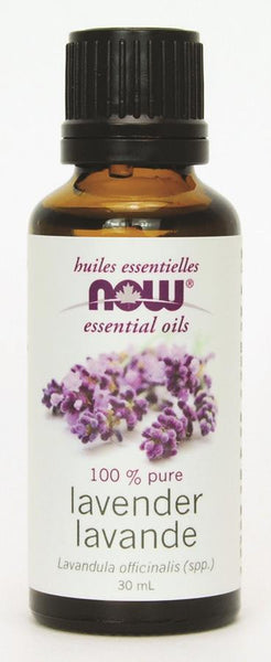 NOW LAVENDER 100% PURE ESSENTIAL OIL 30ML