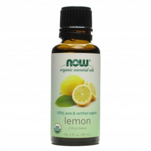 NOW LEMON 100%  PURE ESSENTIAL OIL 30ML