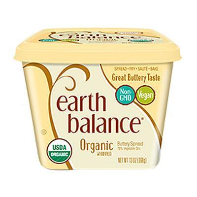 Earth Balance Organic Whipped Buttery Spread 368G