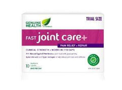 GENUINE HEALTH FAST JOINT CARE+ 500MG 10 VEGI CAPULES