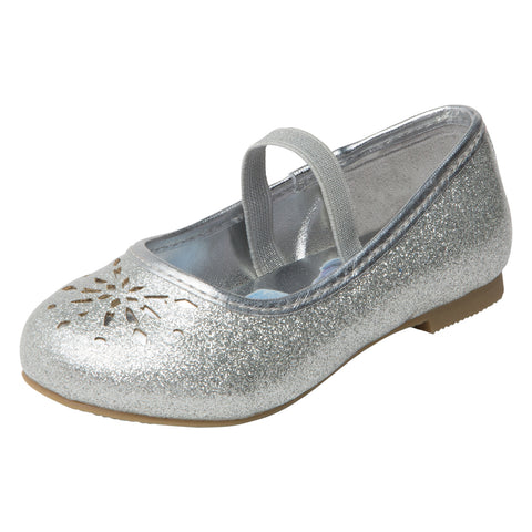 Girls' Disney-Frozen Flat Toddler Shoe