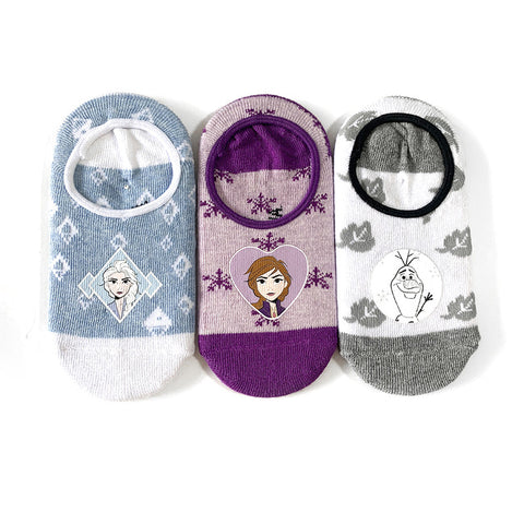 Kids' Frozen 3 Pack Socks