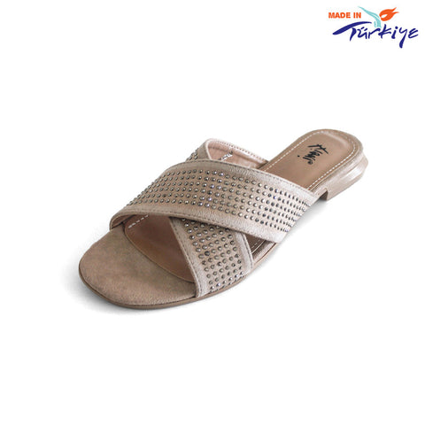 Women's  Flat Slide Sandal