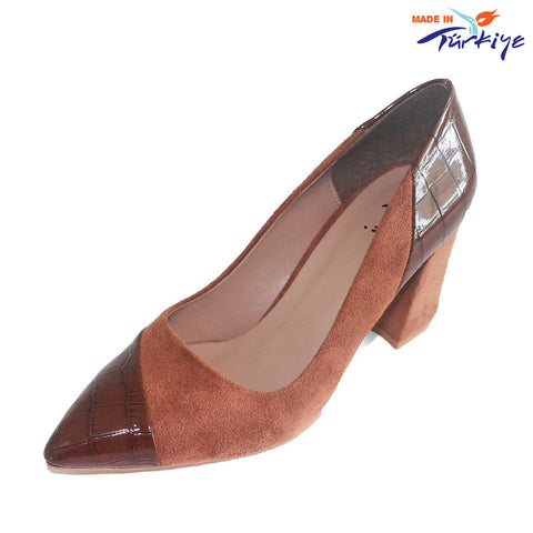 Women's Block Heel Pump