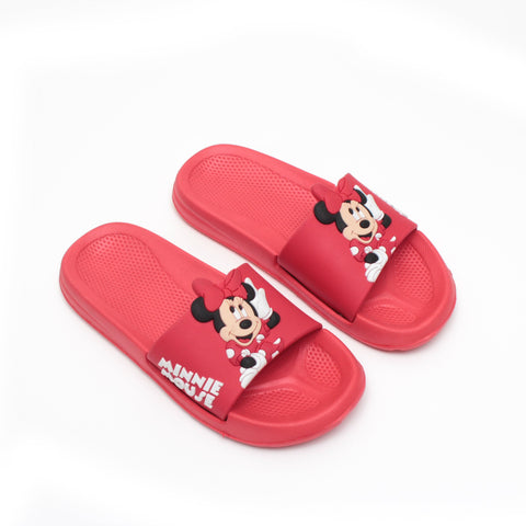 Girls' Toddler Minnie  Slide Sandal