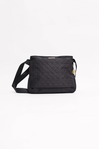 Black Quilted Shoulder Bag - Mossimo PH